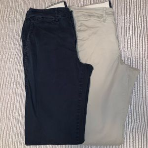 Men's Chinos/ Khackis Abercrombie and Fitch